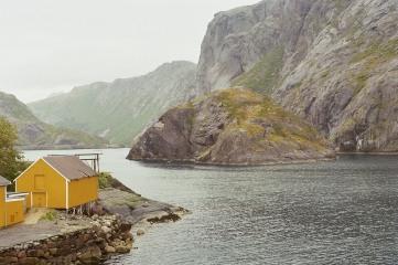 1 gelbes Haus