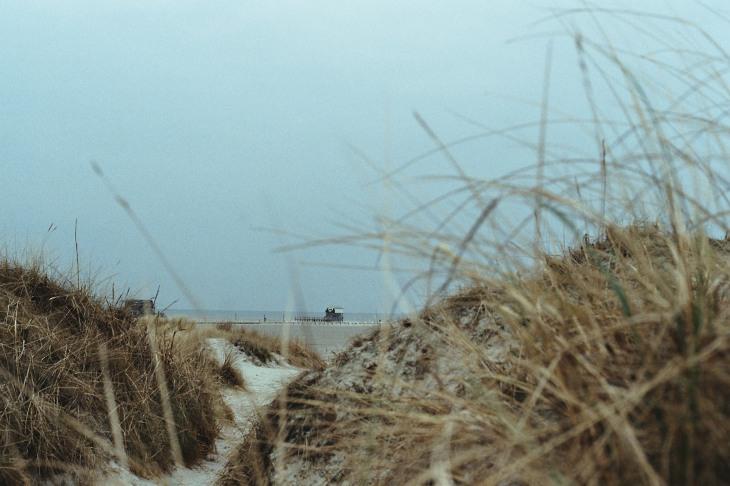 Düne und Meer
