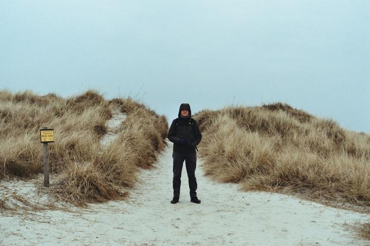 Martin und die Düne