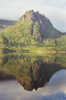 Gespiegelter Berg