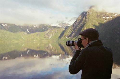 Martin und der gespiegelte Berg