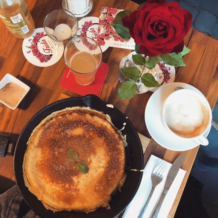 Pfannkuchen bei Frida
